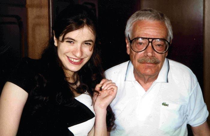 Александр Бланк и дочь Лика Бланк