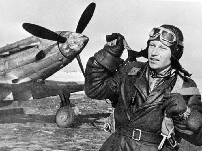 летчик Александр Покрышкин