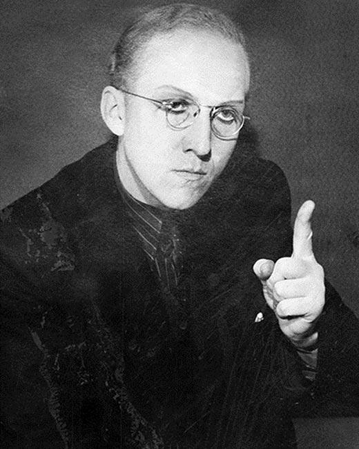 Александр Вокач в молодости