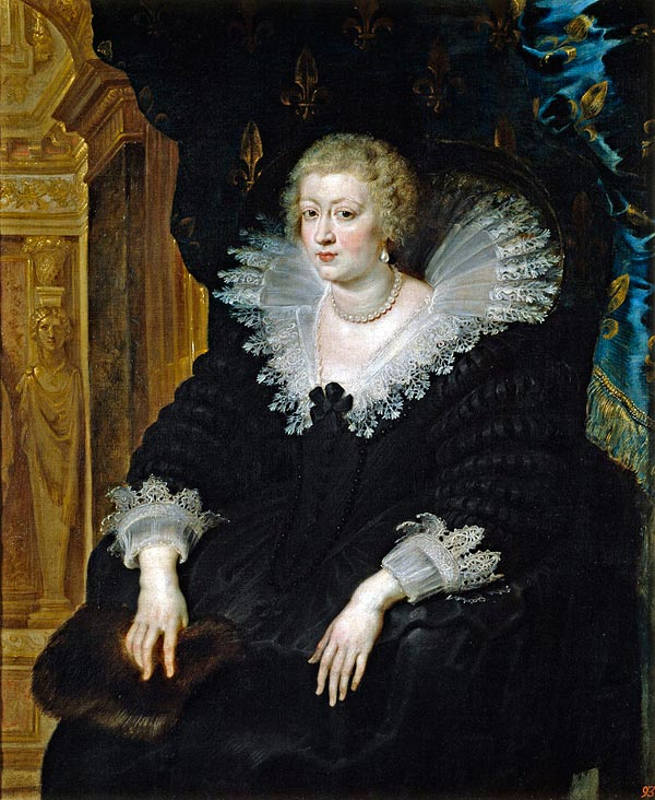 Анна Австрийская жена Людовика XIII