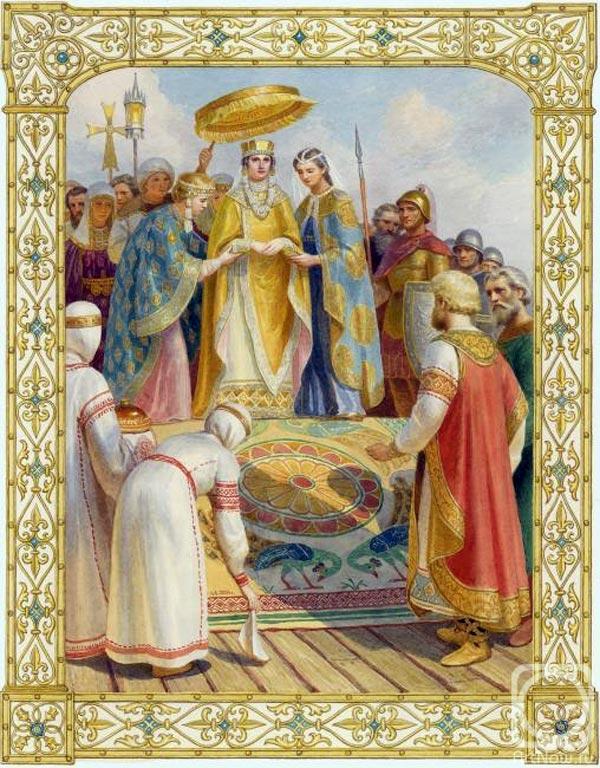 киевская княгиня Анна Византийская