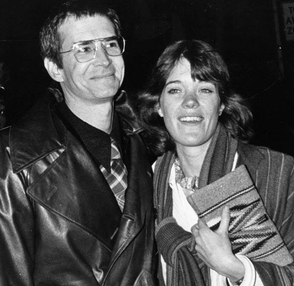 Энтони Перкинс и жена Берри Беренсон