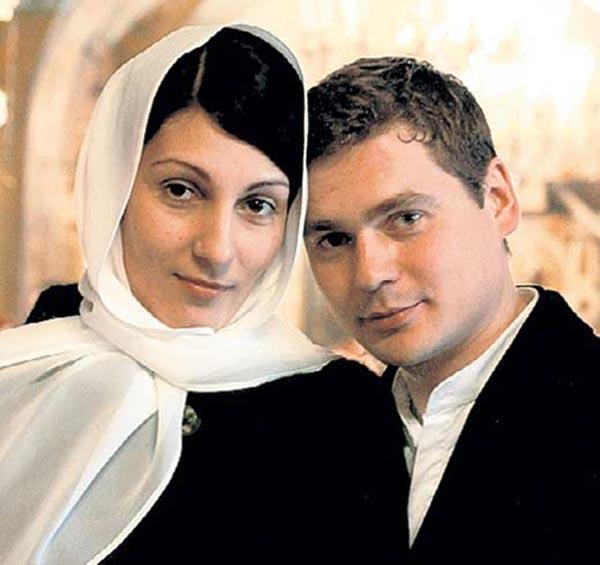 Анжелика Пашкова и бывший муж Александр Пашков
