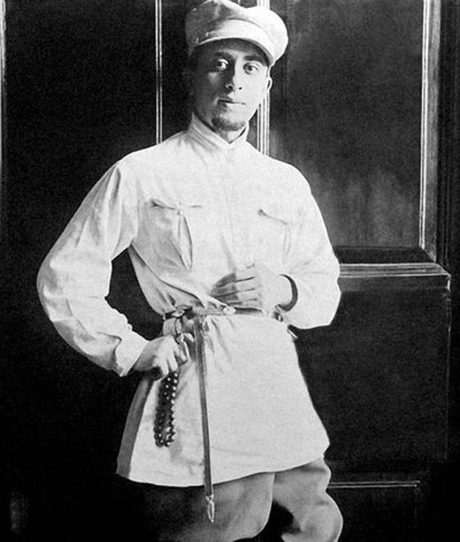 Арам Хачатурян в молодости
