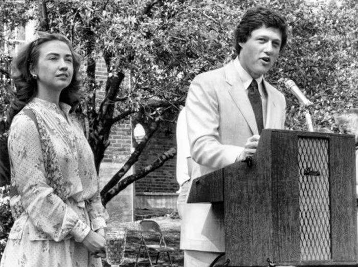 Билл Клинтон и Хиллари Клинтон 2