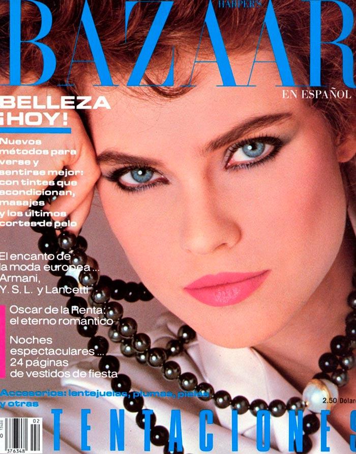 Кэрол Альт на журнале Harper Bazaar