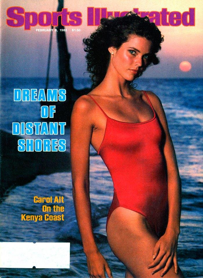 Кэрол Альт на журнале Sports Illustrated Swimsuit Issue