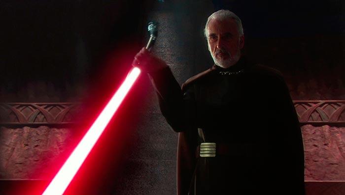 Кристофер Ли Звёздные войны Атака клонов