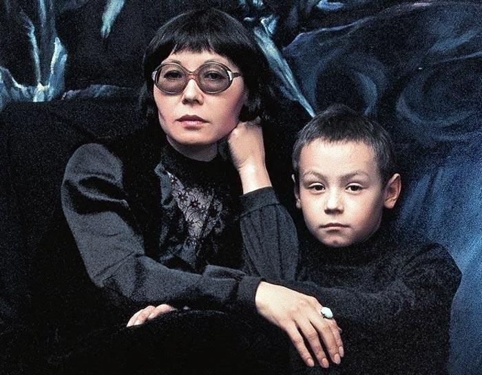 Динара Асанова с сыном