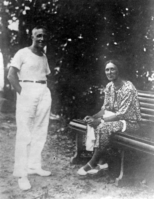 Дмитрий Карбышев и жена Лидия