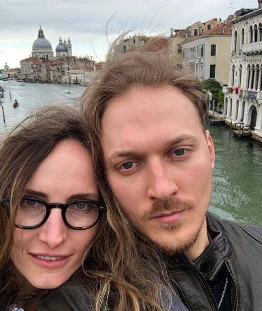 Дмитрий Соломыкин и жена Анастасия Бегунова