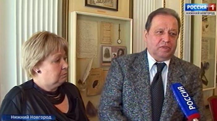 Екатерина Пешкова и Евгений Барченков