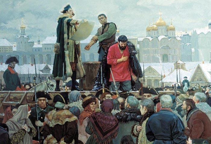 казнь Емельяна Пугачева