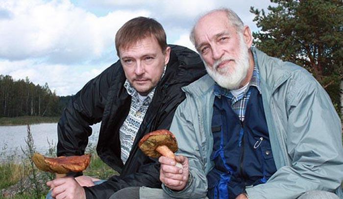Геннадий Нилов и сын Алексей Нилов