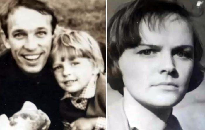 Геннадий Нилов с женой Галиной и сыном Алексеем