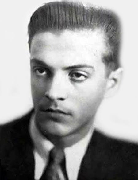 Геннадий Полока в молодости