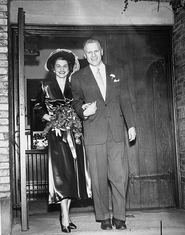 Джеральд Форд и жена Бетти