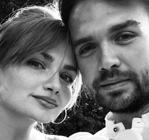 Христина Блохина и муж Антон Рушанин