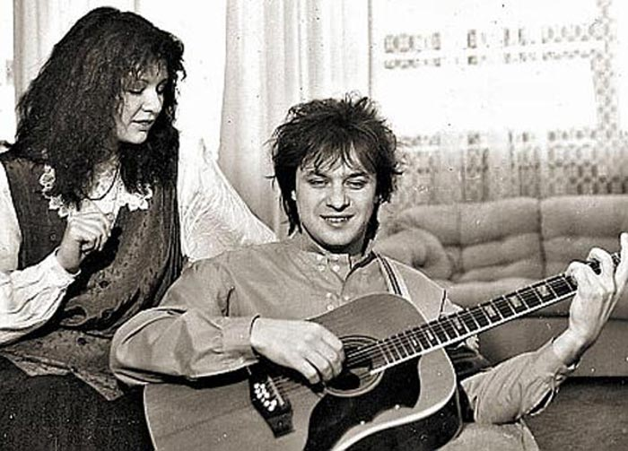 Игорь Демарин и Ирина Шведова