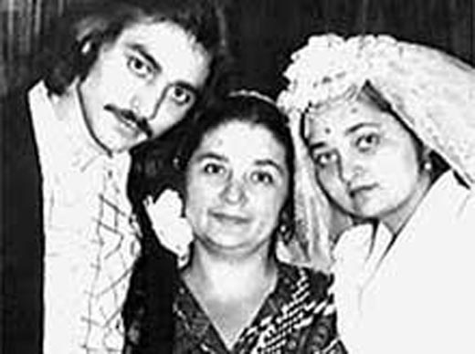 Игорь Крикунов и жена Мила