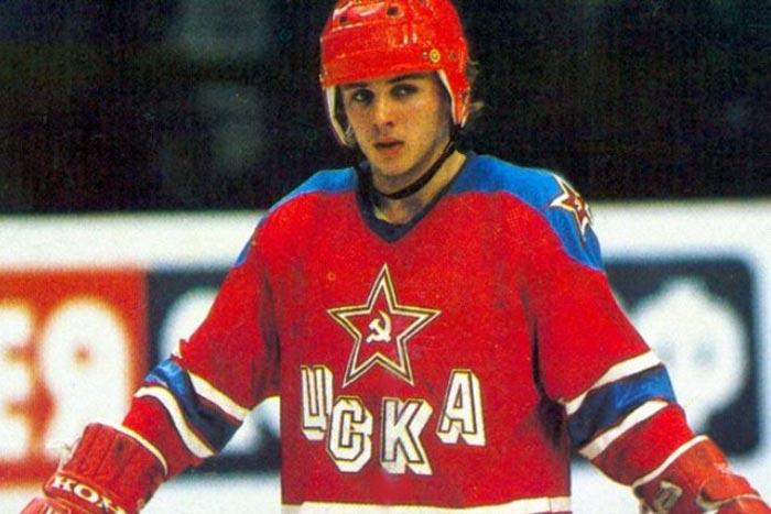 Игорь Ларионов в молодости