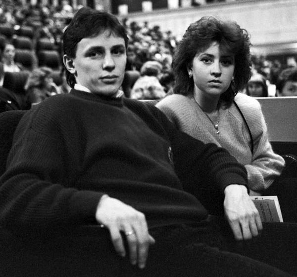 Игорь Ларионов и жена Елена Батанова