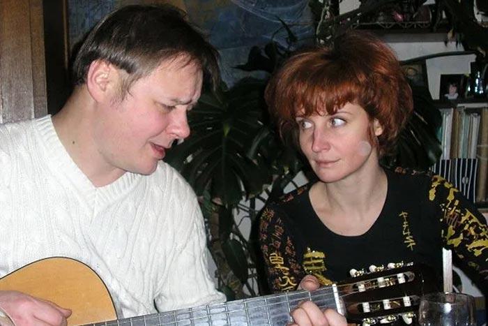 Игорь Николаев и жена Елена Дмитракова