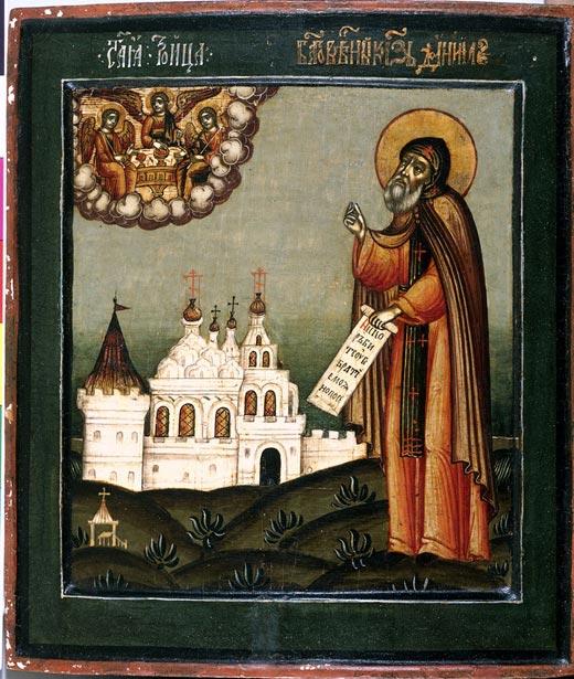 икона Святой князь Даниил Московский