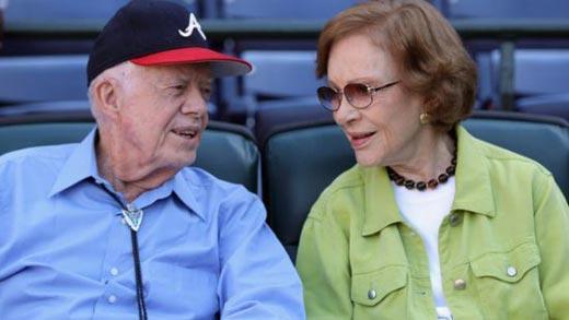 Джимми Картер и жена Розалин Картер 3