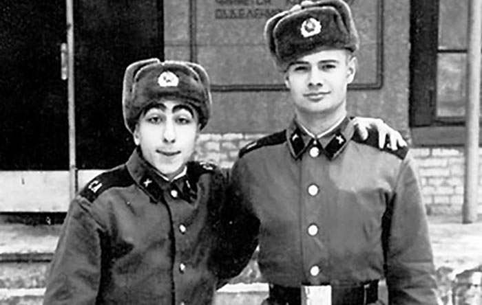 Карен Аванесян в армии