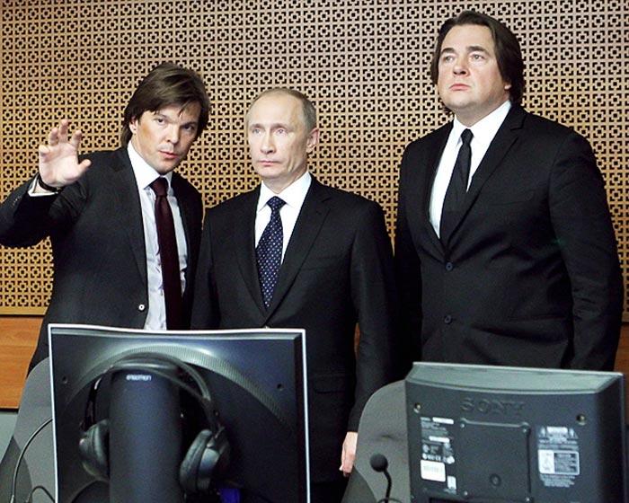 Кирилл Клейменов Владимир Путин Константин Эрнст