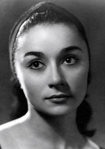 Лейла Шихлинская в молодости