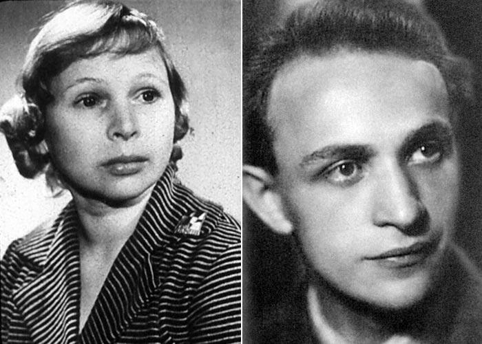 Лидия Князева и Ролан Быков
