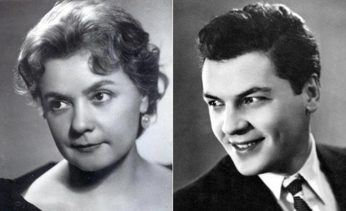Лилия Гриценко и Александр Шворин