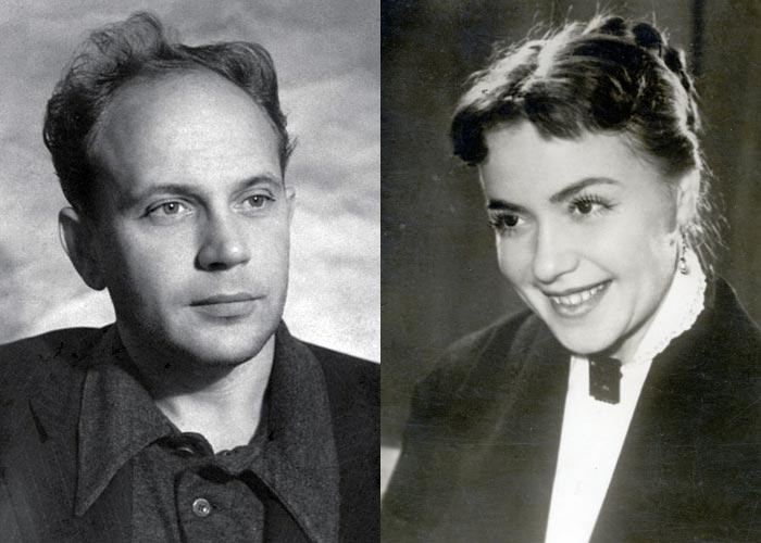 Лилия Гриценко и Борис Равенских