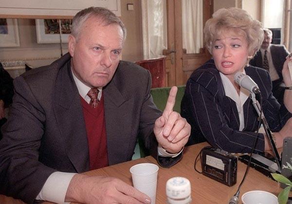 Людмила Нарусова и муж Анатолий Собчак