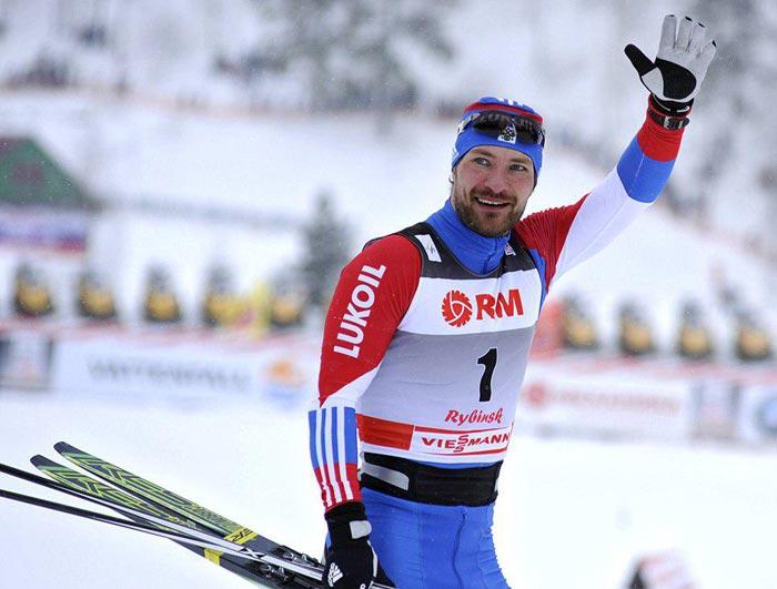 лыжник Алексей Петухов