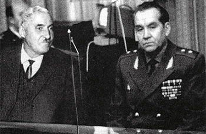 Махмут Гареев и Константин Симонов