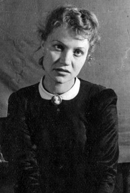Мария Фонина в молодости