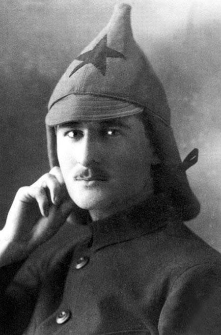 Василий Соколовский в молодости