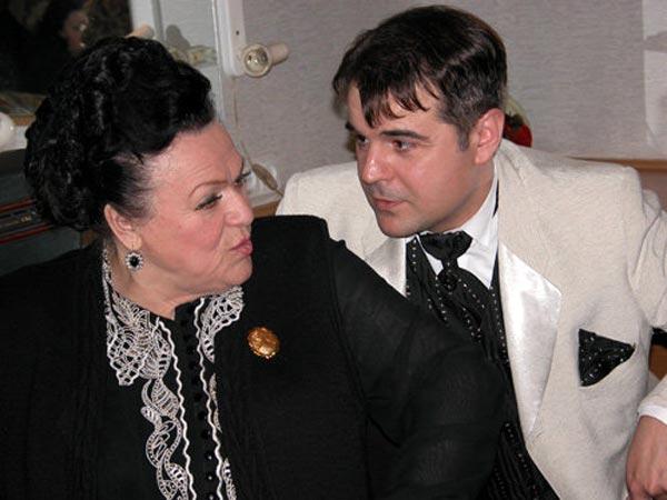 Людмила Зыкина и Михаил Кизин