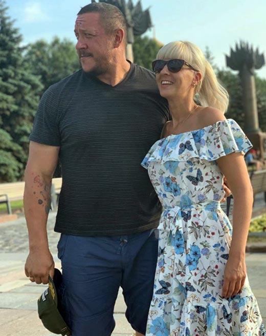 Михаил Кокляев и жена Оксана