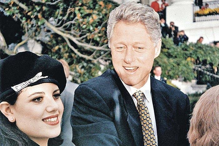 Моника Левински и Билл Клинтон 2
