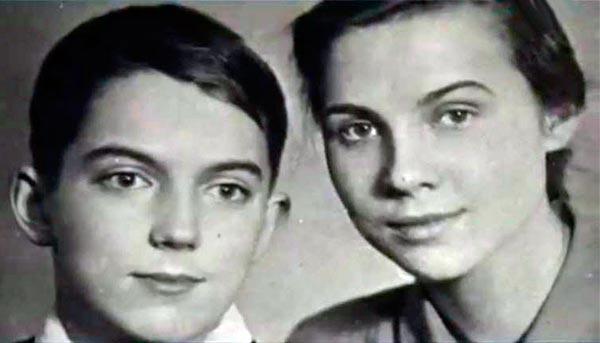 Наталия Киндинова и брат Евгений Киндинов