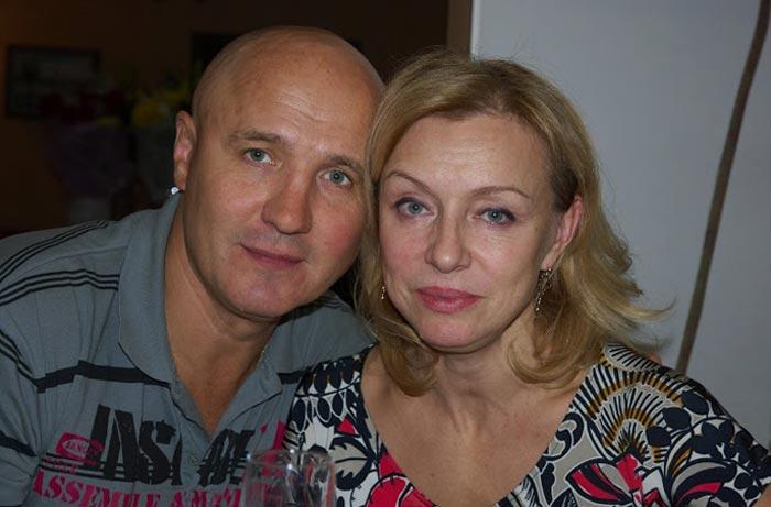 Николай Лукинский и жена Ирина
