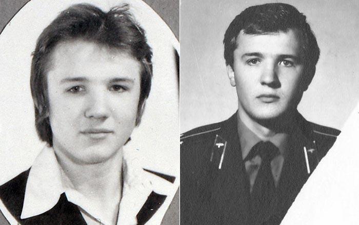 Николай Лукинский в молодости