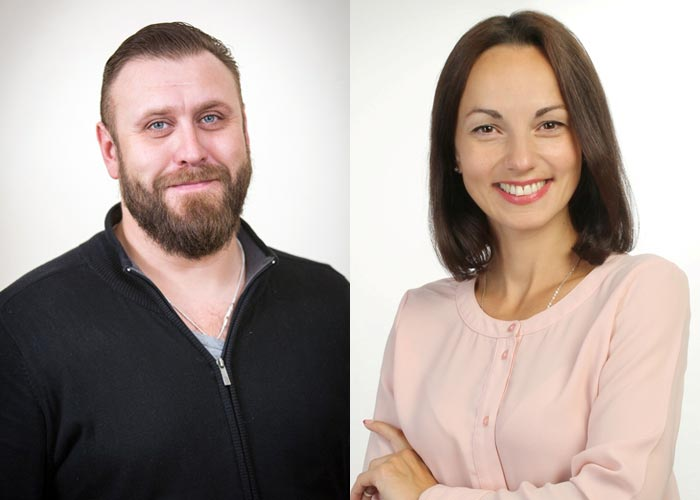 Николай Шрайбер и Ирина Наумкина