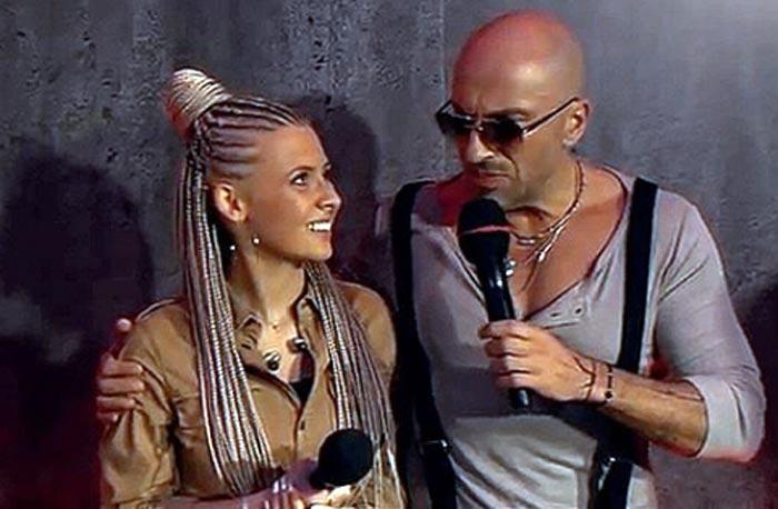 Ника Прокопьева и Дмитрий Нагиев на шоу Голос