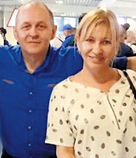 Татьяна Иванова и Эльчин Мусаев