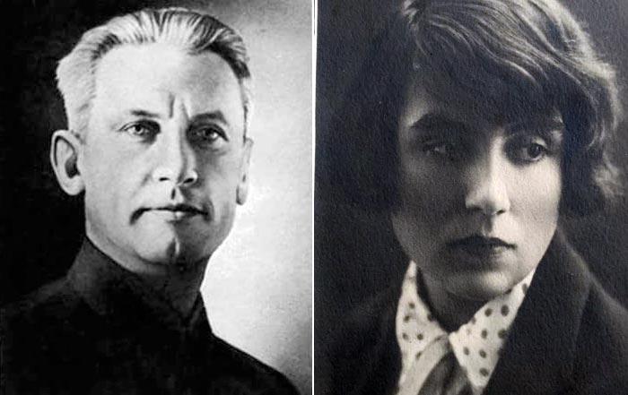 Александр Фадеев и Валерия Герасимова